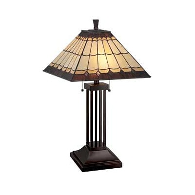 Aurora Lighting CFL Table Lamp - Dark Bronze (STL-LTR457343)