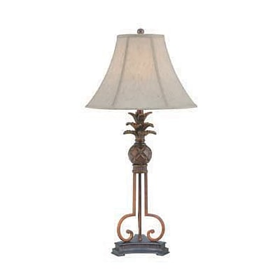 Aurora Lighting CFL Table Lamp - Aged Bronze (STL-LTR459477)
