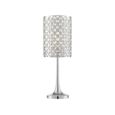 Aurora Lighting CFL Table Lamp - Polished Chrome (STL-LTR462293)
