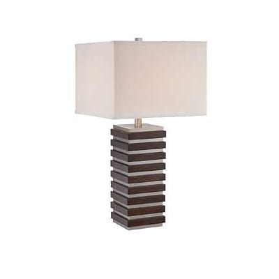 Aurora Lighting Incandescent Table Lamp - Polished Steel (STL-LTR462170)