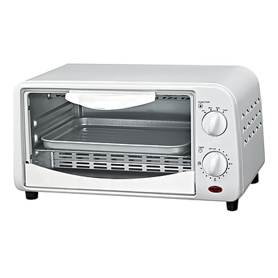 Courant 4- Slice Countertop Toaster Oven in White (TO942W)