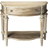 Butler Halifax Console Table; Driftwood