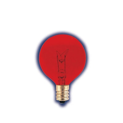 Bulbrite INC G12 10W Dimmable Transparent Red 25PK (306010)