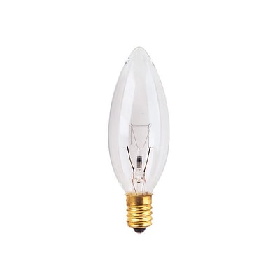 Bulbrite INC B8 15W Dimmable Clear 2700K Warm White 25PK (400115)