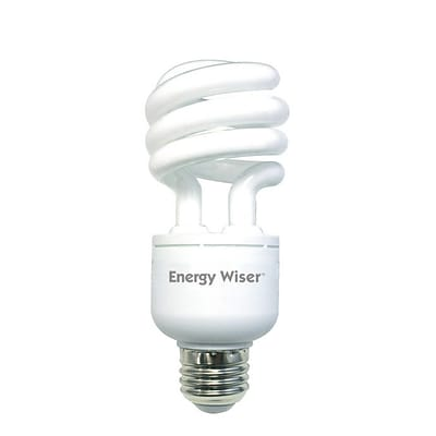 Bulbrite CFL T3 18W Dimmable 2700K Warm White 3PK (514018)