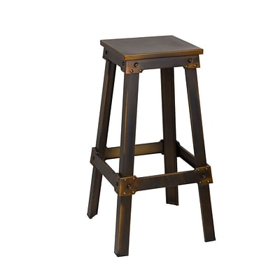 Fine Mod Imports Porch Bar Stool, Copper (FMI10233-copper)