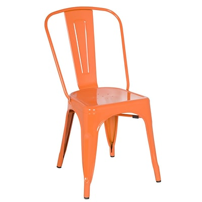 Fine Mod Imports Talix Chair, Orange (FMI10014-orange)