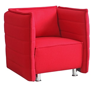 Fine Mod Imports Sofata Chair, Red (FMI10185-red)