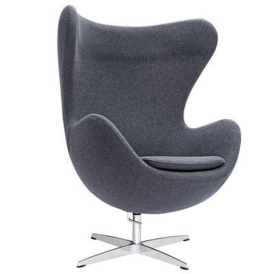 Fine Mod Imports Inner Chair Fabric, Gray (FMI1129-gray)