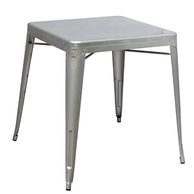 Fine Mod Imports Talix Dining Table, Silver (FMI10037-silver)