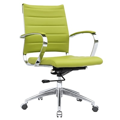 Fine Mod Imports Sopada Conference Office Chair Mid Back, Green (FMI10077-green)