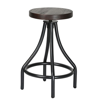 Fine Mod Imports Alta Counter Stool, Walnut (FMI10221-walnut)