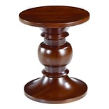 Fine Mod Imports Walnut Stool Style B, Walnut (FMI9991B-walnut)