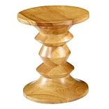 Fine Mod Imports Walnut Stool Style C, Natural (FMI9991C-natural)