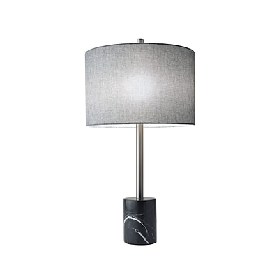Adesso Blythe Table Lamp, Brushed Steel (5280-01)