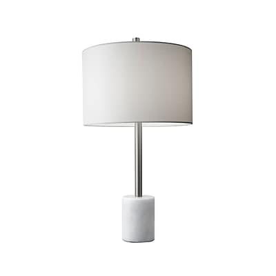 Adesso Blythe Table Lamp, Brushed Steel (5280-02)