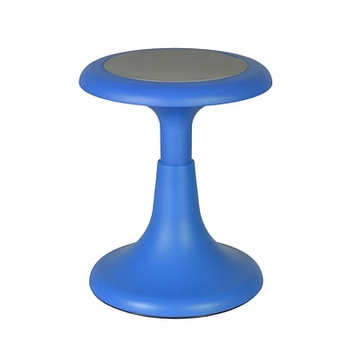 Regency 15 Fixed Height Blue Glow Stool (1620BE)