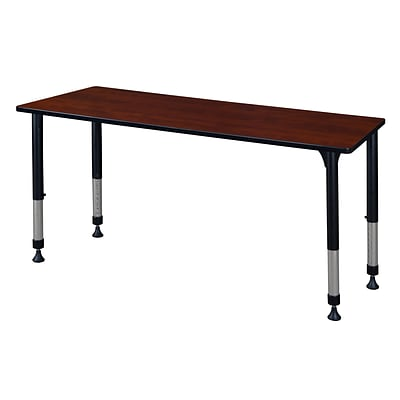 Regency Height Adjustable Kee 60 x 30 Classroom Table, Cherry (MT6030CHAPBK)