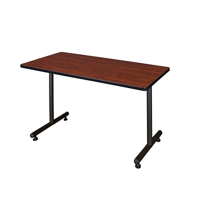 Regency Kobe 48 x 30 Metal and Wood Training Table, Cherry (MKTRCT4830CH)