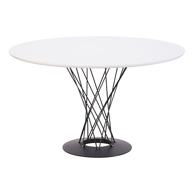 Zuo Modern Spiral Dining Table White (WC110040)