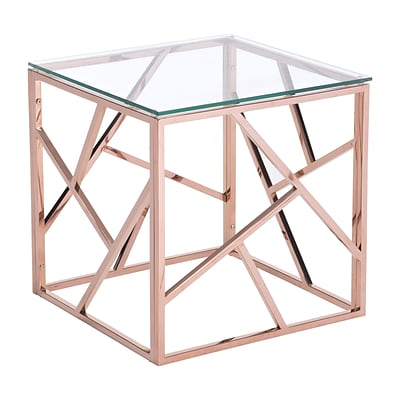 Zuo Modern Cage Side Table Rose Gold (WC100182)
