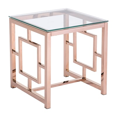 Zuo Modern Geranium Side Table Rose Gold (WC100186)