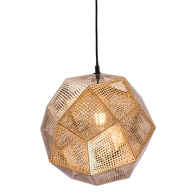 Zuo Modern Bald Ceiling Lamp Gold (WC56014)