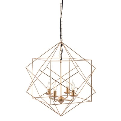 Zuo Modern Penta Ceiling Lamp Gold (WC56022)