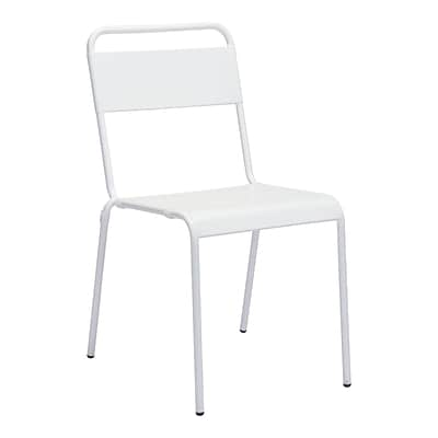 Zuo Modern Oh Dining Chair White (Set of 2) (WC703612)
