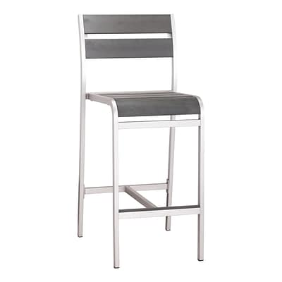Zuo Modern Megapolis Bar Armless Chair (Set of 2) (WC703186)