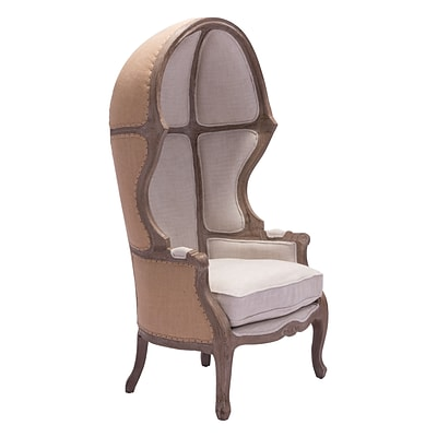 Zuo Modern Ellis Occasional Chair Beige (WC98384)