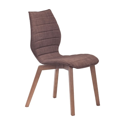 Zuo Modern Aalborg Dining Chair Tobacco (Set of 2) (WC100056)