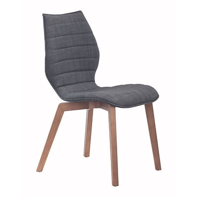 Zuo Modern Aalborg Dining Chair Graphite (Set of 2) (WC100057)
