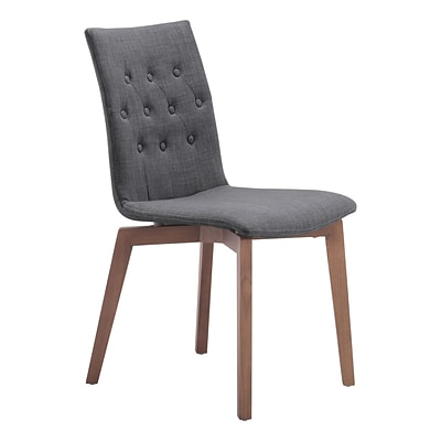 Zuo Modern Orebro Dining Chair Graphite (Set of 2) (WC100071)