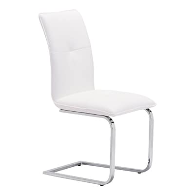 Zuo Modern Anjou Dining Chair White (Set of 2) (WC100121)