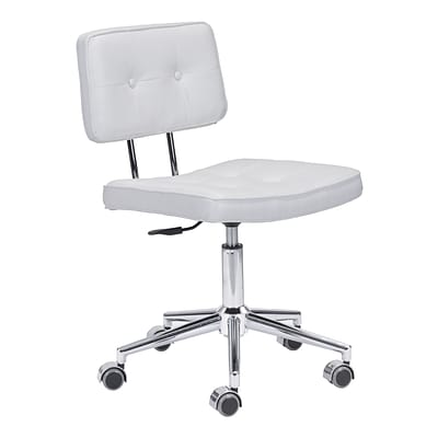 Zuo Modern Series Office Chair White (WC100237)
