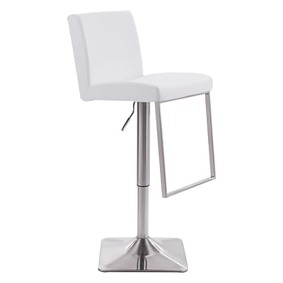 Zuo Modern Puma Bar Chair White (WC100311)