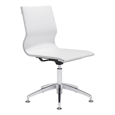 Zuo Modern Glider Conference Chair White (WC100378)