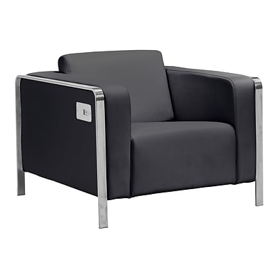 Zuo Modern Thor Arm Chair Black (WC100385)