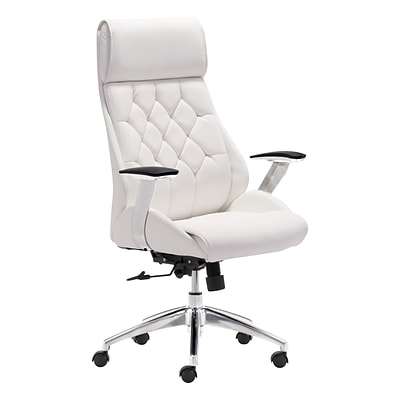 Zuo Modern Boutique Office Chair White (WC205891)