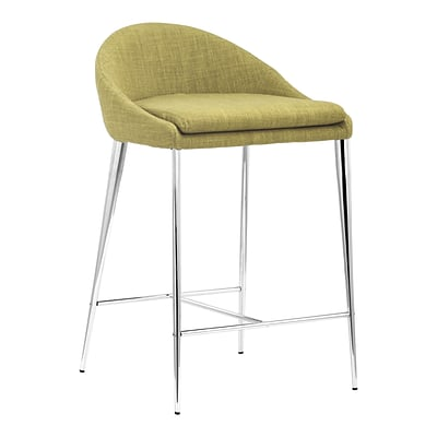 Zuo Modern Reykjavik Counter Chair Pea (Set of 2) (WC300335)