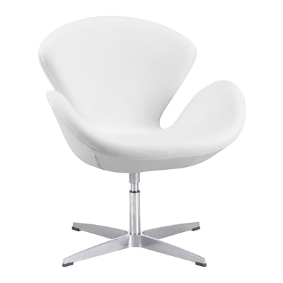 Zuo Modern Pori Arm Chair White (WC500314)