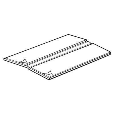 FFR Merchandising Extruded Hinge with Adhesive, 2 inch W x 5 inch L, 12/Pack, (8202735425)