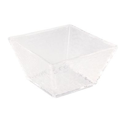 FFR Merchandising Rain Collection, Square Bowl, 12 inch W x 12 inch L x 4 1/2 inch H, (9922112538)