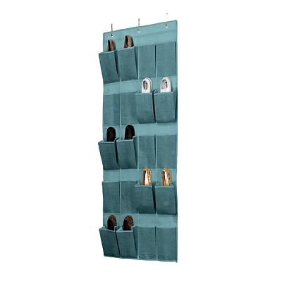 Simplify 20 Pocket Shoe Organizer, Dustyblue (25426-Dustyblue)