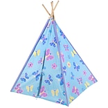 Wildkin Butterfly Garden Canvas Play Teepee