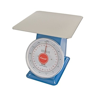 Escali Mercado 132 lbs. (60 Kg) Dial Scale with Plate  (DS13260P)
