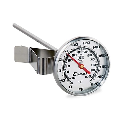 Escali Instant Read Large Dial Thermometer NSF Listed  (AH3)