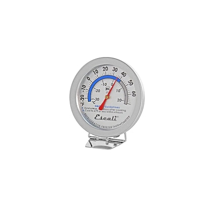 Escali Refrigerator / Freezer Thermometer, NSF Listed  (AHF1)