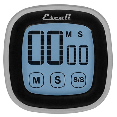 Escali 99 Min Touch Screen Digital Timer Black (DR3-B)